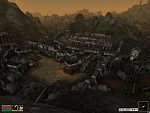 the town of balmora in morrowind at night, after a week's worth of installing mods and graphical tweaks this was the result.  normally you couldn't...